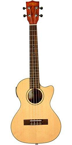 Kala KA-STGE-C Tenor Ukulele Acoustic Electric - Natural [並行輸入品]   B07MB45VRK