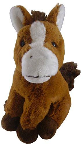 Animal Planet 8.5 Inch Farmyard Cuddly Plush - Horse - Soft Toys
