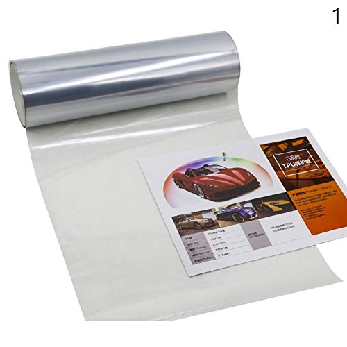 Taloyer Car Sticker Self Adhesive Headlights Tail Lights Smoke Fog Light Tint Vinyl Film Decal Sheet - Films Singapore