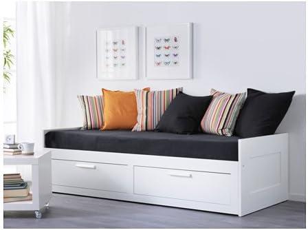 Ikea 12204.82926.3018 - Cama doble con 2 cajones y 2 ...