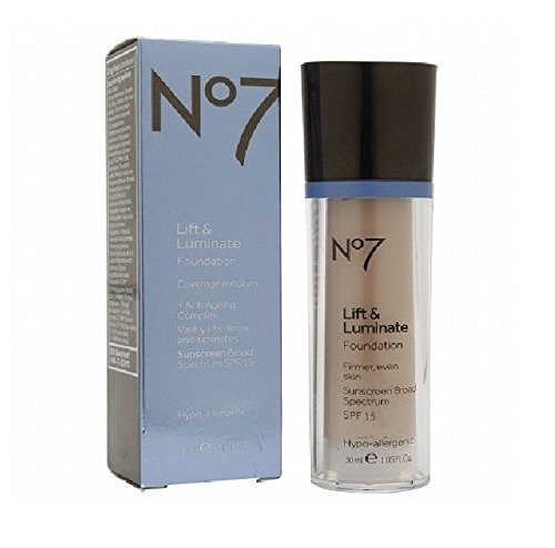 BOOTS No7 Lift & Luminate Foundation Cool Ivory (SPF15)