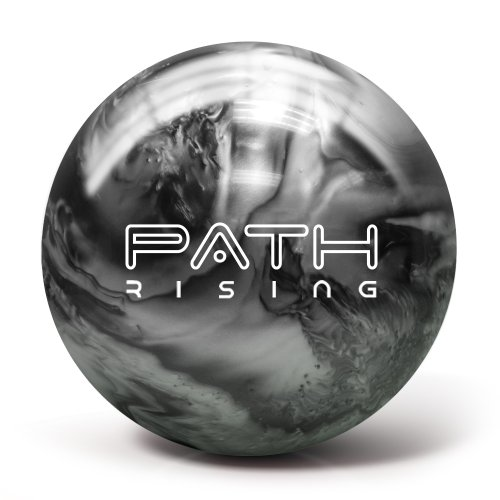 Pyramid Path Rising Pearl Bowling Ball (Black/Silver, 14lb)