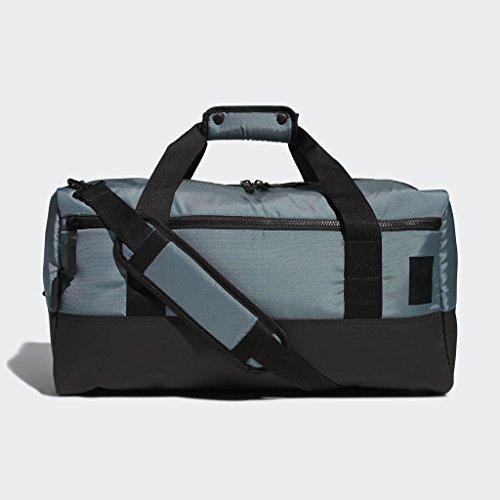 adidas Amplifier Duffel Bag, Raw Green/Black, One Size