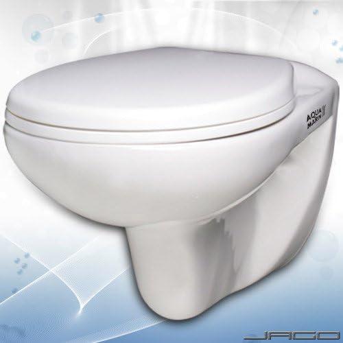 Aquamarin - Pack de WC suspendido con sistema de cierre suave: Amazon.es: Bricolaje y herramientas