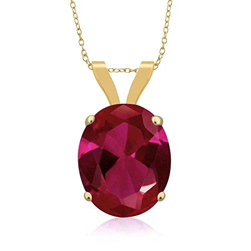 Vintage 14k Gold Ruby - 4