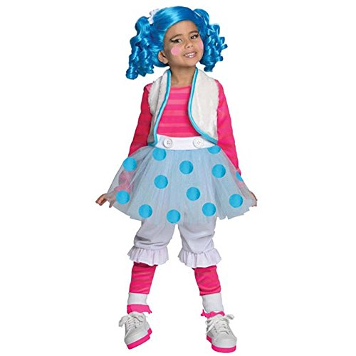 Lalaloopsy Deluxe Mittens Fluff-N-Stuff Costume, (Tv Show Character Halloween Costumes)