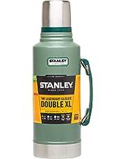 Stanley Classic Legendary Bottle 1.9L / 2.0QT Hammertone Greenl – BPA-FRI Termos i Rostfritt Stål - Håller Varmt i 30 h - Läckagesäkert Lock, Fungerar som Mugg - Tål Maskindisk - Livstidsgaranti