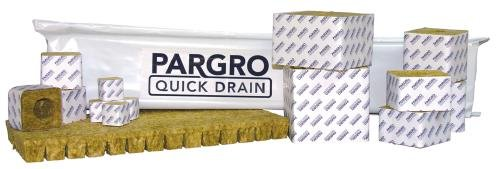 Grodan Pargro Quick Drain Stonewool Plug, 1.5 by 1.5 by 1.5 Inch, Case of 1372 by Grodan