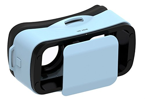 Lcyyo@ Mini VR Virtual Reality Headset VR 3D Video Game Movie Glasses for 4.5-5.5 Inch IOS & Android Smart Phone (Blue)