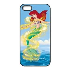 iPhone 4 4s Cell Phone Case Black Little Mermaid III Ariel's Beginning 007 VS5319669