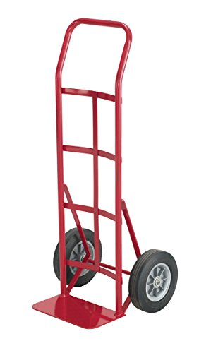Safco Products 4092 Continuous Handle Heavy-Duty Utility Hand Truck, Red by Safco Products