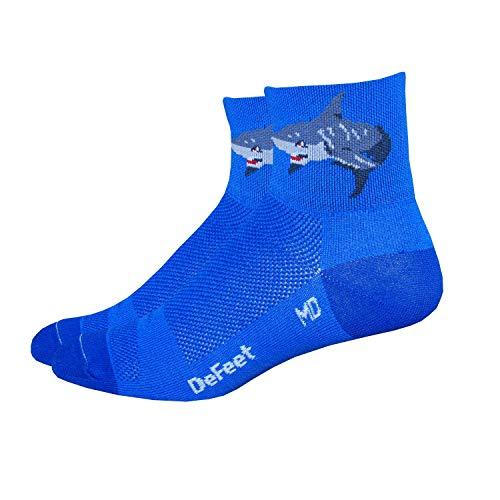 DeFeet AirEator 2.5in Attack! Cycling/Running Socks - AIRATT (L) from DEFEET