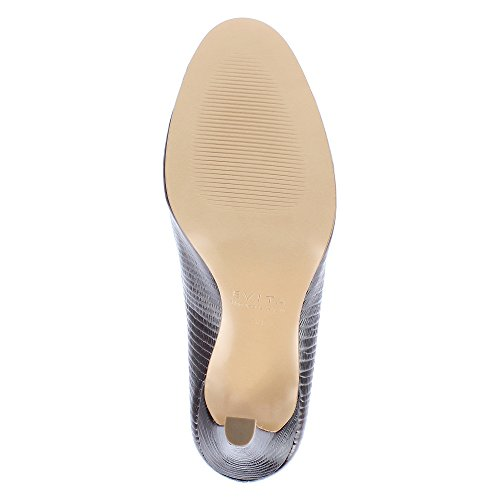 Evita Shoes Cristina Escarpins Femme Cuir gaufré Bordeaux jcA56D