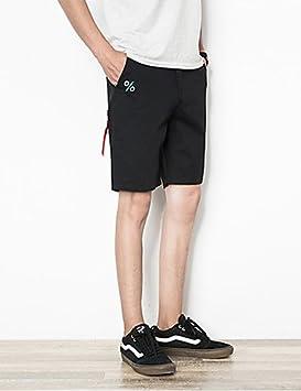 85a4c1102 Hombre Activo Tiro Medio Microelástico Shorts Pantalones,Delgado Un Color:  Amazon.es: Deportes y aire libre