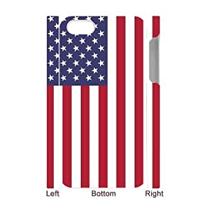 Custom Flag Case for Iphone 4,4S with America flag yxuan_4200417 at xuanz