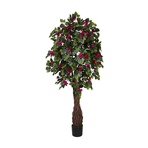 6' Multi Vine Bougainvillea Silk Tree By Big E Products