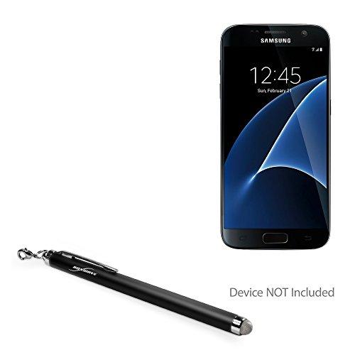 Samsung Galaxy S8 Stylus Pen, BoxWave [EverTouch Capacitive Stylus] Fiber Tip Capacitive Stylus Pen for Samsung Galaxy S8 - Jet Black