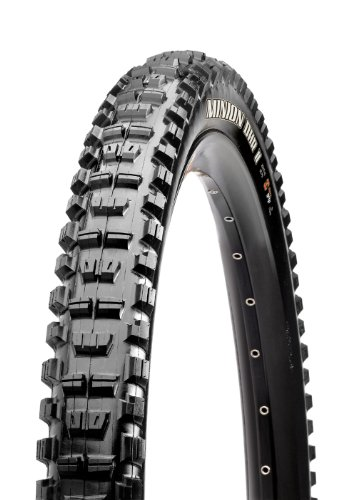 Maxxis Minion DHRII 3C Exo Tubeless Ready Folding Tire, 26x2.30inch - Knob By Folding Black Tire