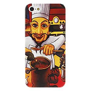 Cook Pattern Hard Case for iPhone 5/5S