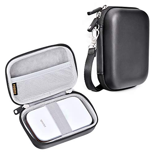 Waterproof Snug fit Camera Case Bag Compatible Canon PowerShot SX720 SX730 ELPH190 SX620 G9X Mark II,Panasonic ZS50 DMC-TS30R,Sony DSCW830 W810 HX80/B WX220 HX90,HP Sprocket Portable Photo Printer Bag
