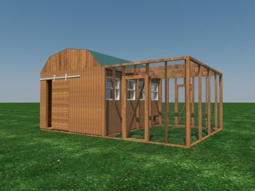 Build-your-own-12-X-16-Chicken-Coop-DIY-Plans-Fun-to-build-Save-money