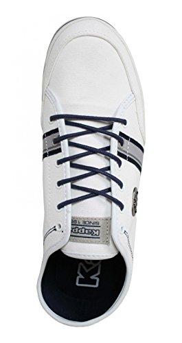 Sneaker für Herren KAPPA 3022YR0 BRADOR 925 WHITE-LT GREY