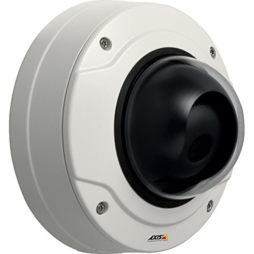 Axis Communications Q3505-V Mk II Indoor Day & Night HDTV 1080p Dome Camera with 9-22mm Varifocal Lens, Up to 25/30fps, H.264, MJPEG, PoE, IK10 Vandal Resistant, White Vandal Resistant Corner