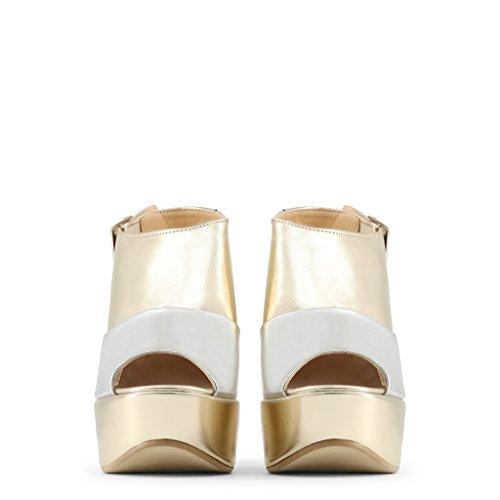 Sandales in Femme Jaune Italia 37 BIBIANA Made qpwdSvtS
