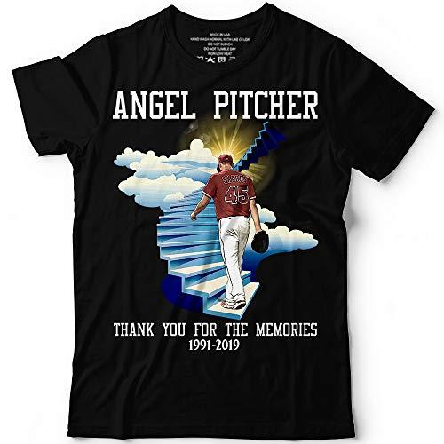 Angel Pitcher Skaggs Heaven 1991 2019 Baseball Thank You For The Memories Customized Handmade T-Shirt Hoodie/Long Sleeve/Tank Top/Sweatshirt