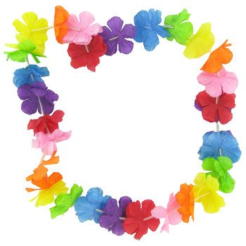 Silk Carnation Leis Luau Party Supplies (Carnation Leis)