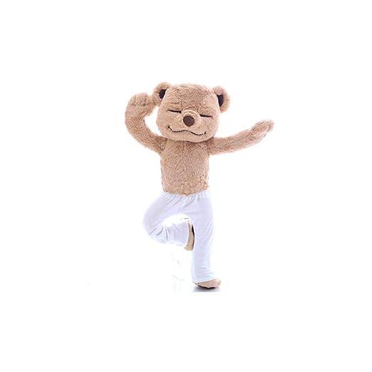 upupupup Juguetes Blandos Peluches Creativo Yoga Oso Muñeca ...