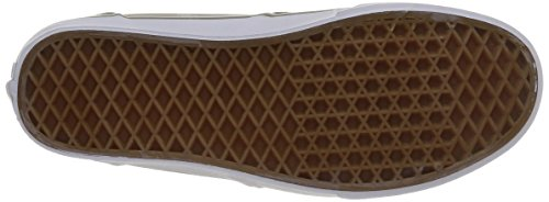 Bishop Canvas VZUUI45 Vans M White Brindle Beige Textile xwZpCEp1