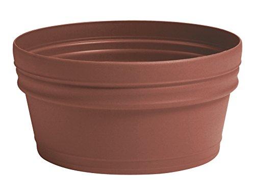 Myer Industries Akro Mils Villa Low Bowl  Clay  14