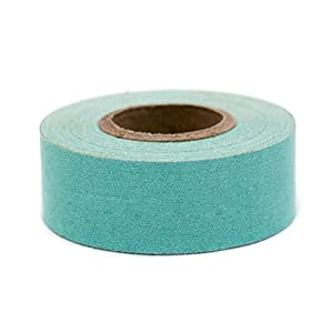 """1"""" Aqua Color-Code, Clean-Remove Labeling Tape, Write On Surface   500"""" Roll"""