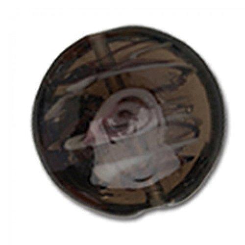 - Impex Round Rose Lamp Beads Black - per pack of 3