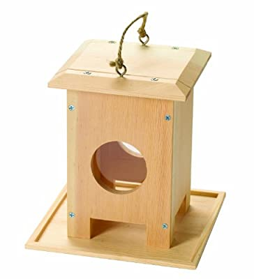 Red Tool Box Bird Feeder