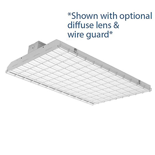 140 Watt LED Full Body High Bay Warehouse Commercial Shop Light, Dimmable, 19,320 Lumens, For Tall Ceilings, DLC ETL Listed - 5 Year Warranty