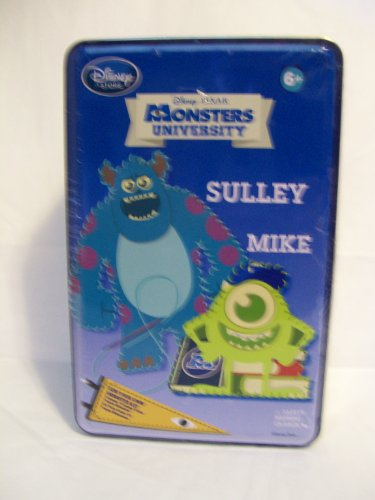 Disney / Pixar Monsters University Sulley & Mike SEW Your OWN Monster ()
