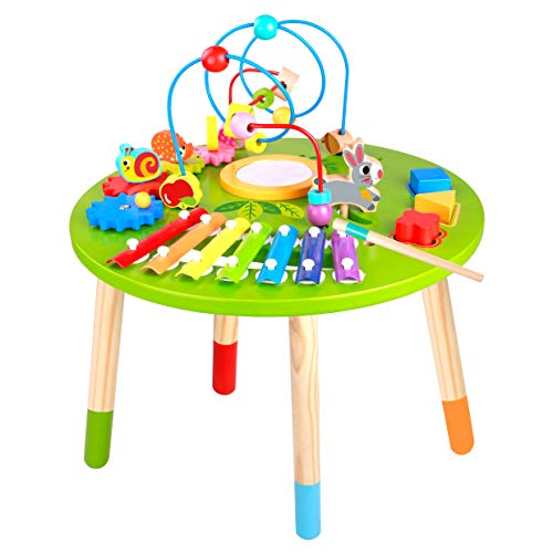 Wooden Activity Table for Toddlers | Multi-Purpose Children