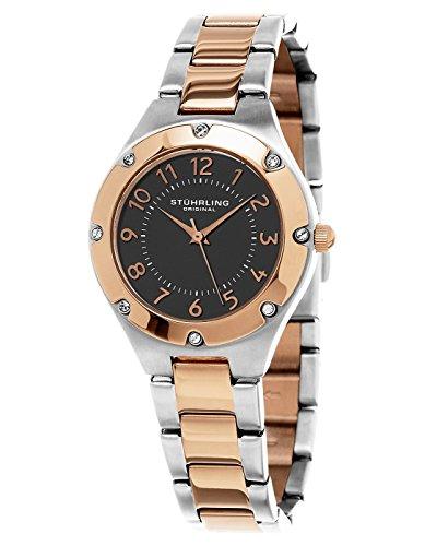 Stuhrling Original Women's 548.03 Symphony Quartz Stainless Steel Watch