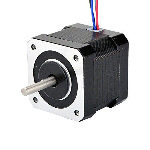 Nema 17 Bipolar Stepper 12V 0.4A 56.7oz.in/40Ncm Hybrid Stepper Motor 3D Printer