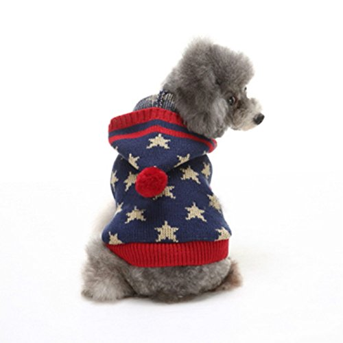 Dog Apparel Clothes Jacket & Sweatshirt Hoodie Sweater Inspired Playful Super Star Pet Sweaters