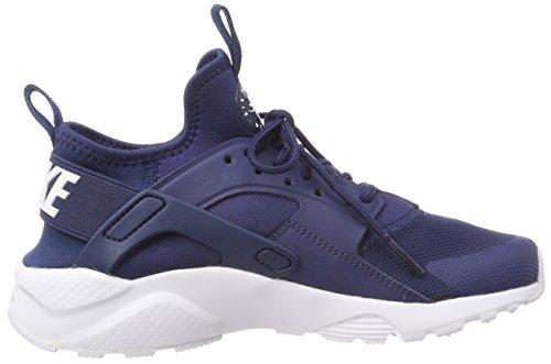 Nike Air Huarache Run Ultra GS, Zapatillas de Gimnasia Para Niños Azul (Navy/white 406)