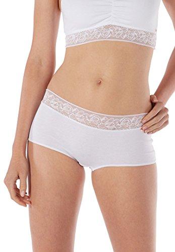 Skiny - Shorts - para mujer blanco