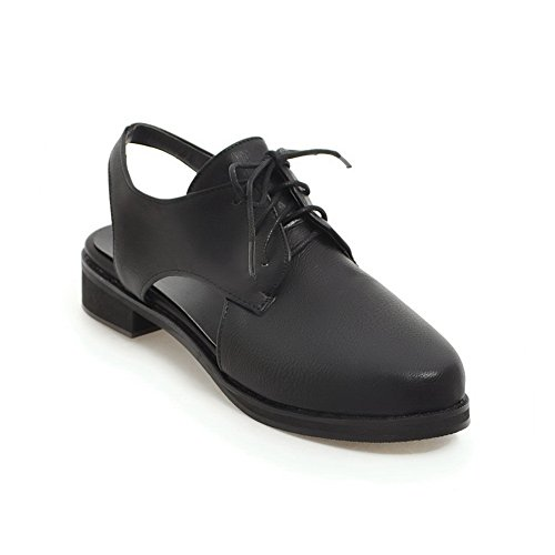 BalaMasa Sandals Womens Sandals BalaMasa Closed-Toe No-Closure Smooth Leather Urethane Sandals ASL04474 B07DM521SJ Parent bd699c