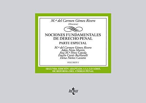 Descargar Libro Nociones Fundamentales De Derecho Penal Mª Del Carmen Gómez Rivero