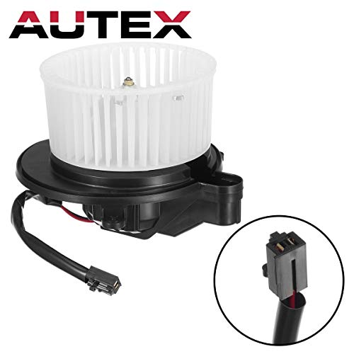 AUTEX HVAC Blower Motor Assembly Compatible with 2006 2007 2008 2009 2010 Jeep Commander AC Blower Motor 05 06 07 08 09 10 Jeep Grand Cherokee Blower Motor Air Conditioner -