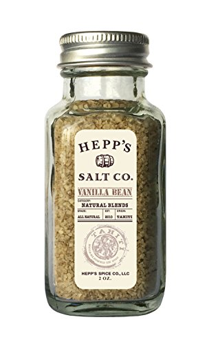 Hepp's Salt Co, Vanilla Bean Sea Salt - Salt Vanilla