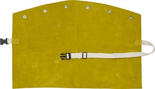 IRONCAT 7001 Heat Resistant Split Cowhide Leather Welding Bib, 14