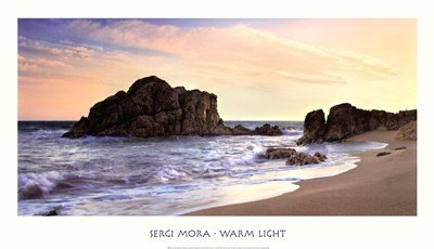 Warm Light by Sergi Mora - 39x22.5 Inches - Art Print Poster